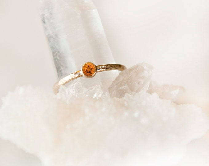 10KT Yellow Gold Citrine Birthstone Ring