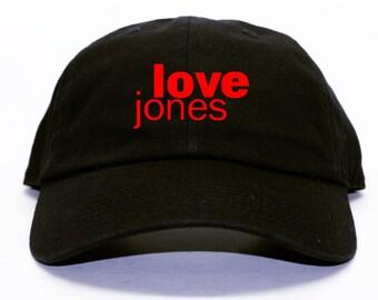 Love Jones Black Dad Hat 90s Movie