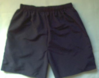 Navy Blue Walking Shorts By Stately Flag Clothes