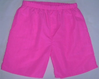 Men's pink shorts by StatelyFlagClothes