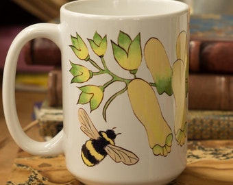 Witchy Wolfsbane Coffee Mug - Wiccan Gifts For Kitchen Witches