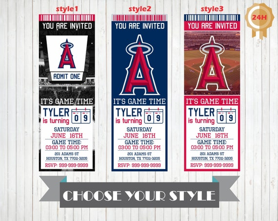 photograph about Angels Printable Schedule identified as Los Angeles Angels Invitation, Printable Los Angeles Angels Birthday Invitation, Birthday Celebration Invites, Tailored Invitations, Invite