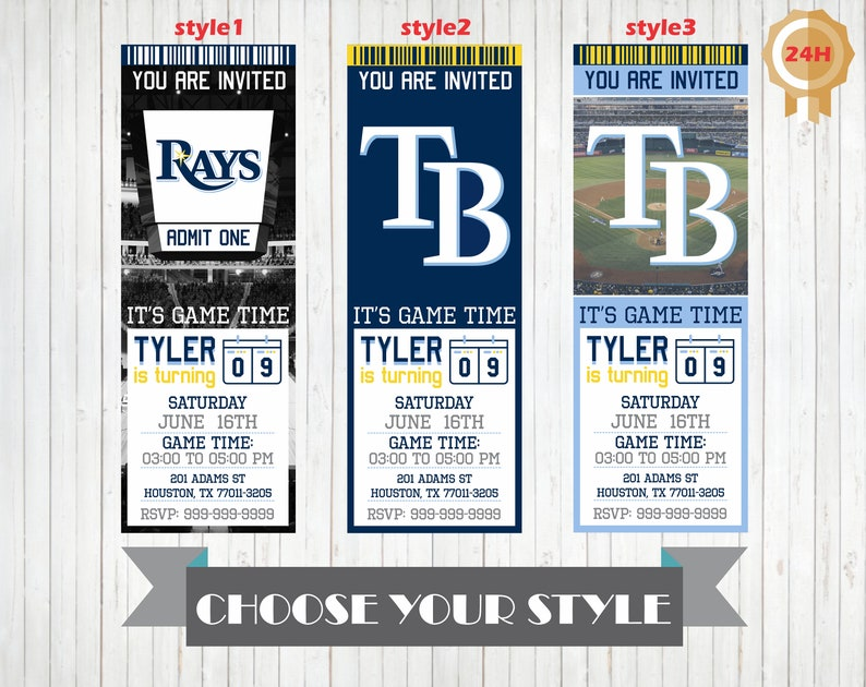 graphic about Rays Printable Schedule identify Tampa Bay Rays Invitation, Printable Tampa Bay Rays Birthday Invitation, Birthday Get together Invites, Custom made Invitations, Rays Invite
