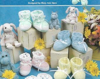 Crochet Pretty Baby Booites, Annie's Attic 872514