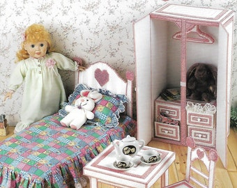 Vintage Doll Furnishings, Annie's Attic 870631