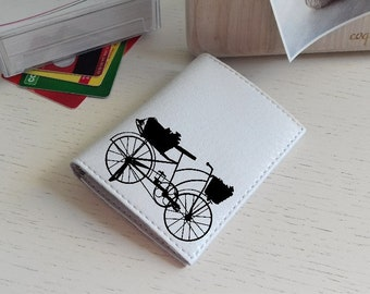 white small custom money purse mens travel leather coin cases personalized handmade minimalist leather wallet stylish cute id card holder