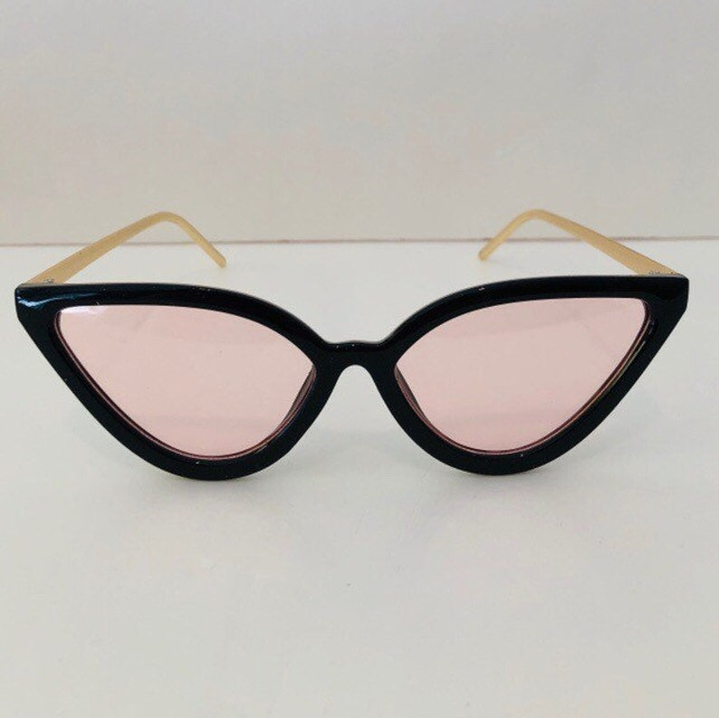 Eye Temple And Get Black 1 With Free Sunglasses Cat Buy FrameGold Pink 2 Lens thsQCrdx
