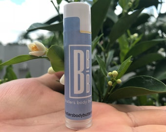 Pure and Simple Lip Balm, All Natural Lip Butter, Coconut Oil Free Moisturizing Lip Care, Vegan Skincare Gifts for Women and Men