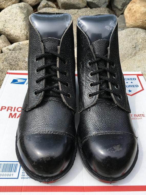 Vintage Exposed Steel Toe Cap NCB boots