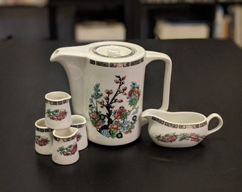 Steelite England international 6 pc tea set
