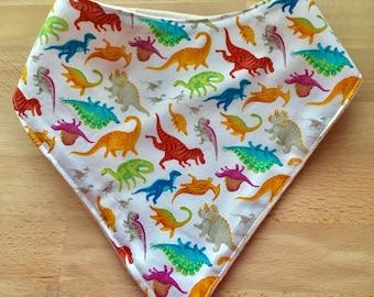 Dinosaur Drool Bib