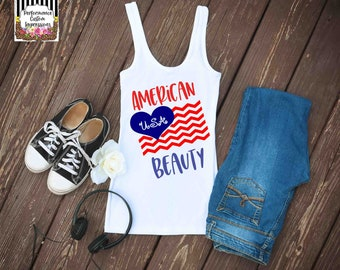 American Beauty Sublimation Transfer ST-ABF01