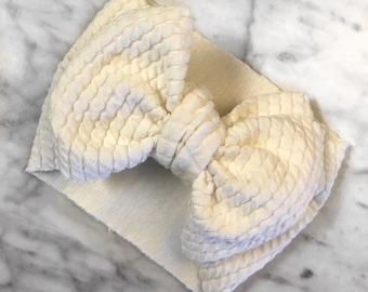 Off White Textured Wrap