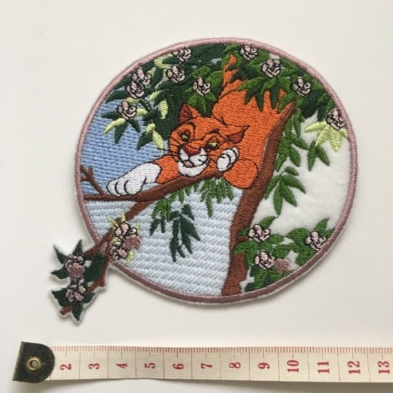 Duchess and O/'malley Cat Cute Cartoon Cat Iron On embroidery Patches