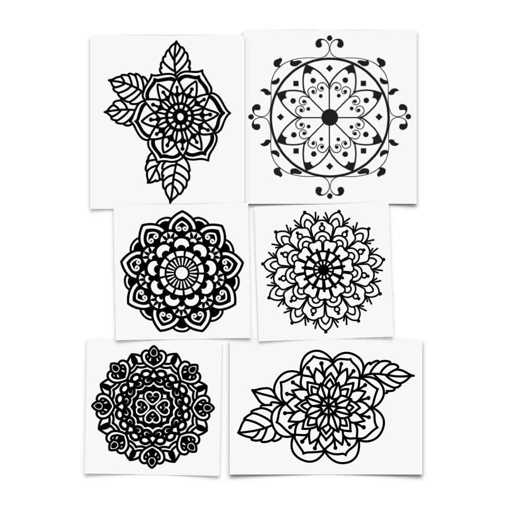 206f2b89e3cea Tatouage Chakra Mandala Sleeve Geometric Sleeve Tattoo Full