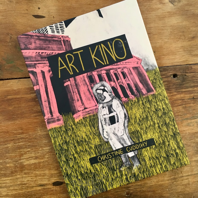 Art Kino Film Inspired Illustration Book Etsy