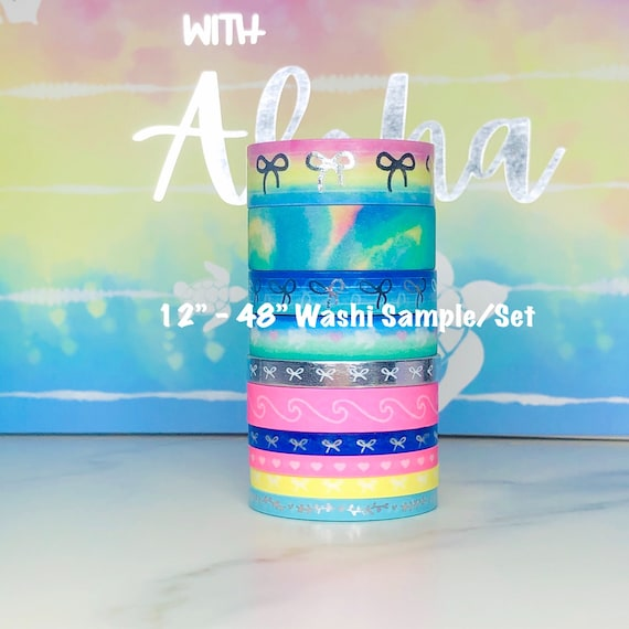Washi Tape Samples Simply Gilded June 2020 Sub Box With Aloha