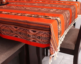 Traditional Handmade Tablecloths from PERU