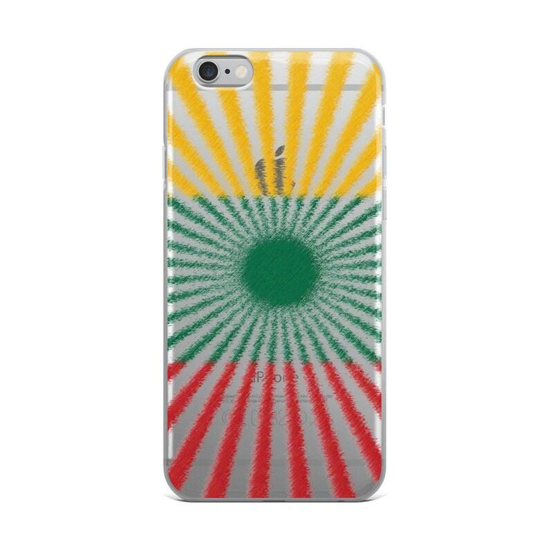 iPhone Case Lith Sunburst