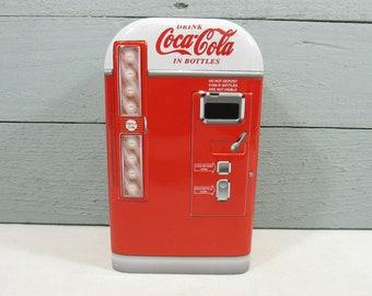 Retro Kühlschrank Coca Cola : Coca cola machine etsy