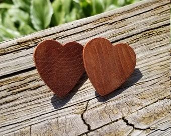 Original Heart Stud Earrings