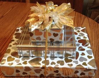 Wedding Season! Gold Gift Bow