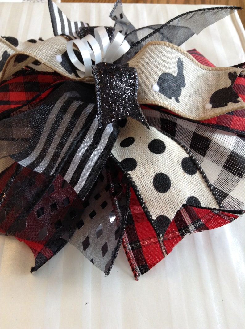 Country Easter Gift Bow