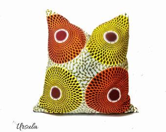 African Pillow, African Fabric, Ankara Fabric Pillow, Tribal Pillow, African  Home Decor, Wax Fabric