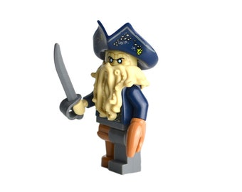 Davy Jones Minifig Etsy
