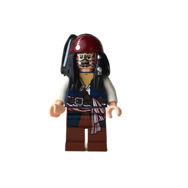 Lego Pirates of the Caribbean Minifigure body Cannibal 1 Minifig Part 4182