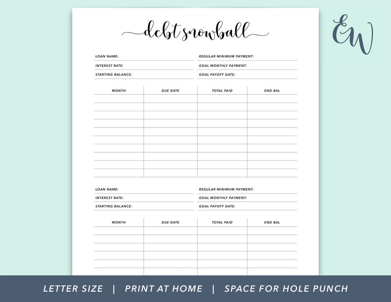 graphic relating to Debt Tracker Printable identify Credit card debt Snowball Printable, Letter Dimension Financial debt Tracker, Personal debt Payoff Tracker Printable, Credit card debt Tracker for Planner, Credit card debt Payoff Tracker Printable