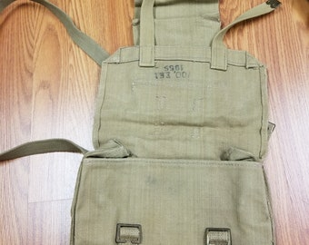 Vintage Army messenger Bag  318d7a8efd71f
