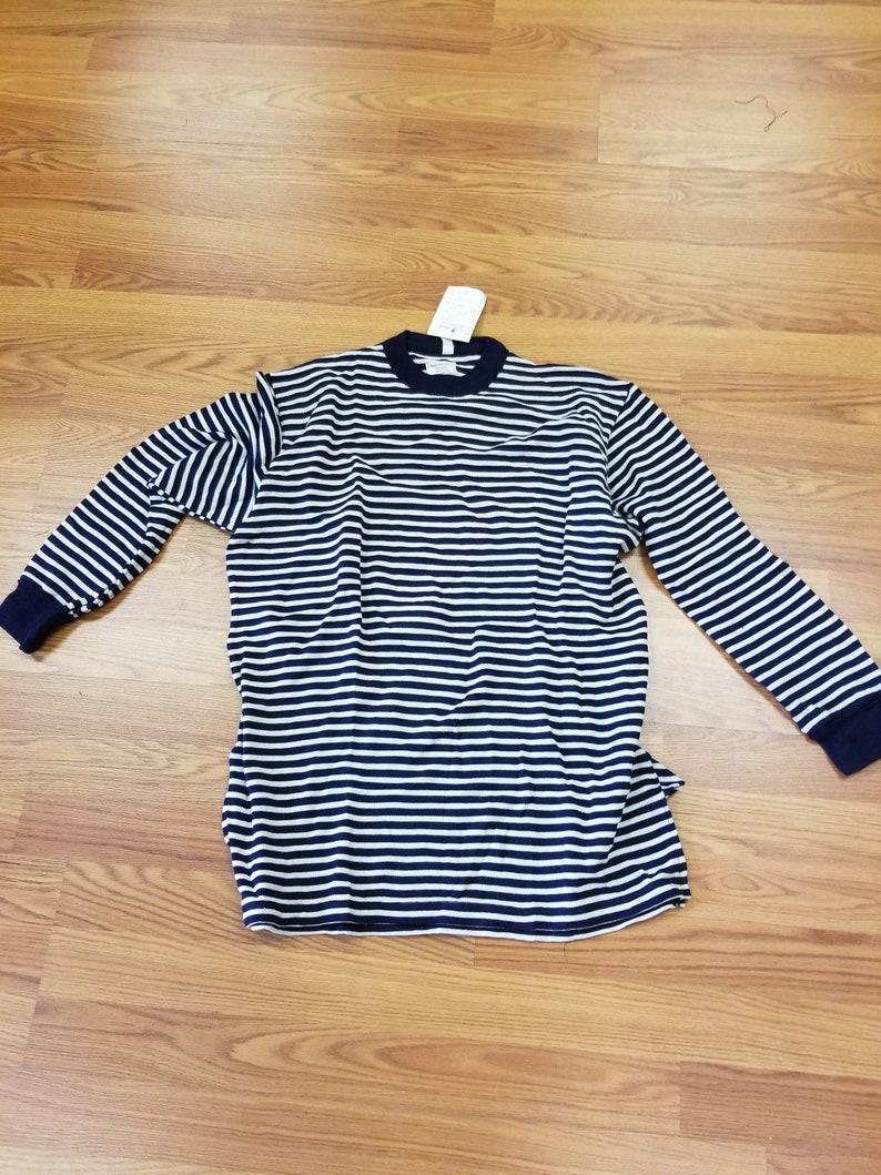 d43e2c5945 Russian Navy shirt Telnyashka Sailors' Shirt Russian | Etsy