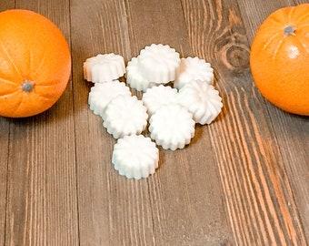 Fresh Orange Soy Wax Melt - Scented Wax - Farmhouse Home Decor - Soy Wax Melts - Wax Melts Burner - Wax Warmer - Earth Tone Candles