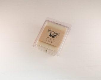 Fresh Orange Soy Wax Melt - Fruit Scented Wax - Soy Wax Melts - Wax Melts Burner - Wax Warmer - Earth Tone Candles