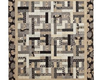 Harmony Jelly Roll Quilt Digital Pattern