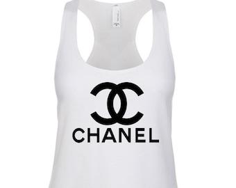 CC Women's Racerback Tank Top Chanel Top