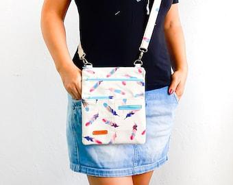 Crossbody Bag Pattern/ 2 different size