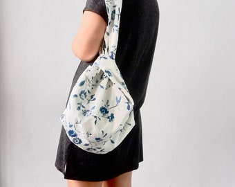 Reversible Knot Bag Pattern- 4 different sizes and style /Video Tutorial