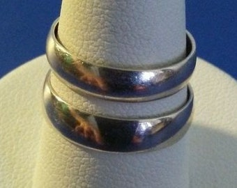 Traditional Pair Wedding Band Sterling