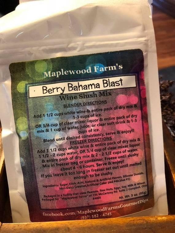 Berry Bahama Blast Juice/ Wine Slush Mix