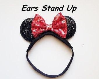 Toddler Boy Headband Disney Headband Boy Headband Mickey Mouse Stitch Headband Baby Gift