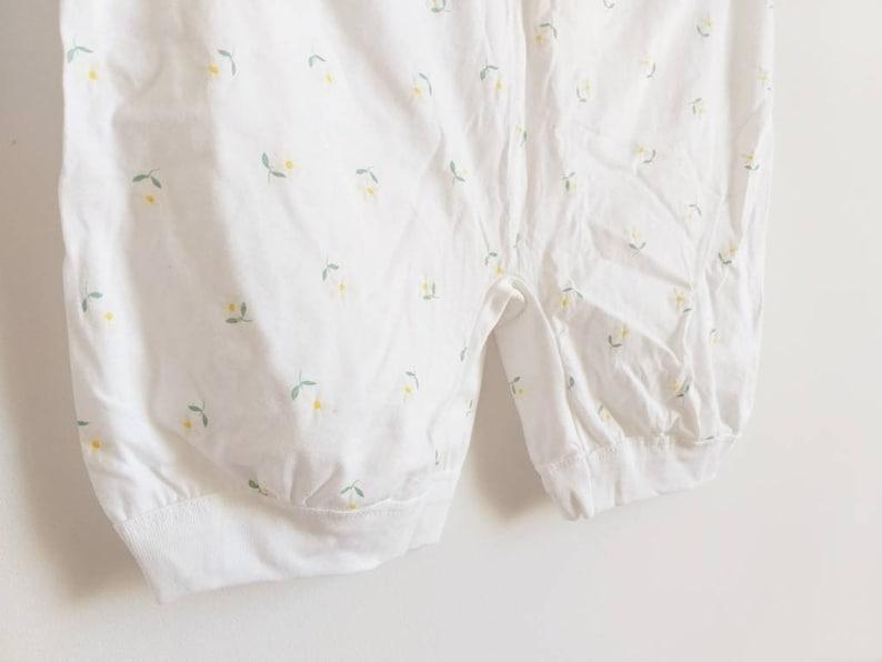 Vintage Grandmother/'s Panties Retro Undrwear White Shorts Vintage Girl Lingerie Medium Size Women/'s Beach Wear Pants Cotton Tap Pants Size M