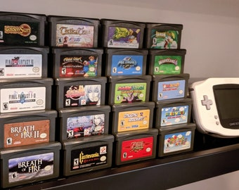 4-Pack of Handheld Game Stands (Display 20 Games!)