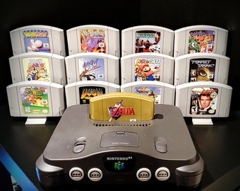 4-Pack of Retro Game Stands (Display 24 Games!)