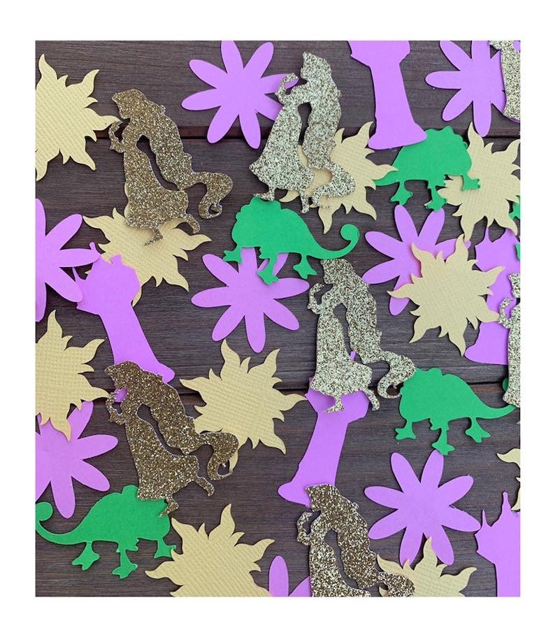Tangled Confetti 100CT  Rapunzel Decorations