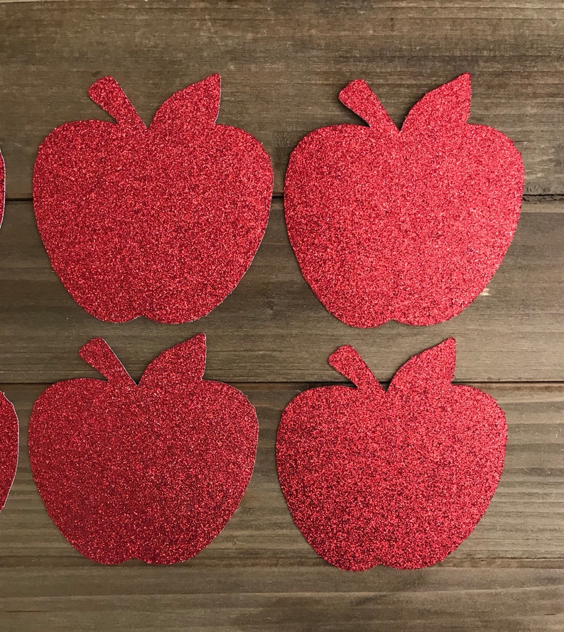 Snow White Cut Outs 10CT  Apple Cut Outs