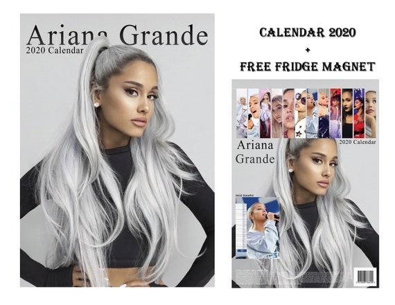 Ariana Grande Calendario.Ariana Grande Calendario 2020 Magnete Frigo Ariana Grande