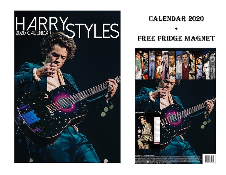 Calendario Ariana Grande 2020.Harry Styles Calendar 2020 Edizione Limitata Harry Styles Frigo Magnete
