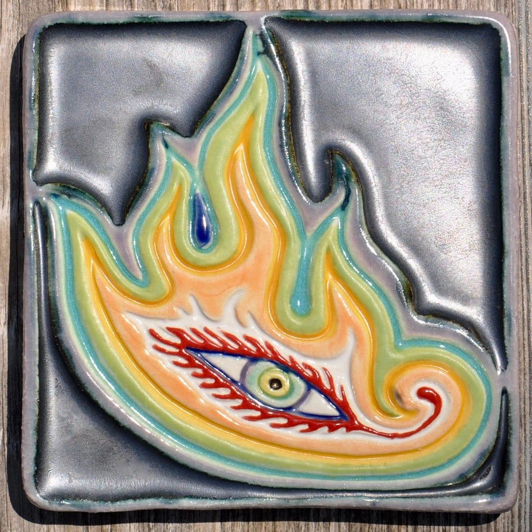 Handmade Tile/ Ceramic Art | Etsy